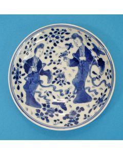 Chinees porseleinen schoteltje, JiaQing periode