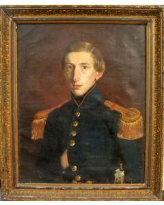 Portret van een Nederlandse officier, ca. 1820