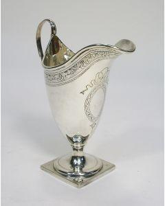Zilveren roomkan, Charles Stuart Harris, Londen ca. 1890