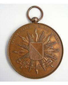 Prijspenning Utrechtse Studentenweerbaarheid, 19e eeuw