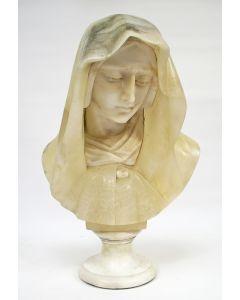 Albasten beeld, Mater Dolorosa, 19e eeuw