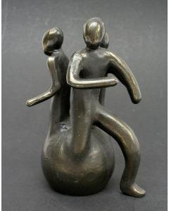 Bronzen afstudeerbeeldje Medische Faculteit Universiteit Utrecht, door Maarten Benschop