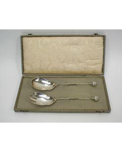 Zilveren sladiencouvert, 1886