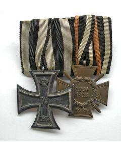 Duitsland, spang van twee militaire onderscheidingen, periode Eerste Wereldoorlog