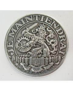Zilveren steunpenning, 1914 [J.C. Wienecke]