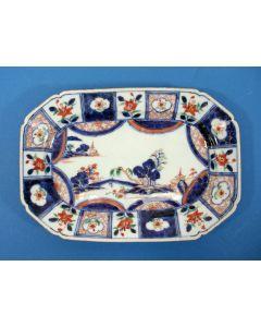 Chinees Imari Verte schotel, Qianlong periode