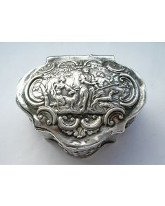 Zilveren snuifdoos, Pieter van Os, Amsterdam 1773