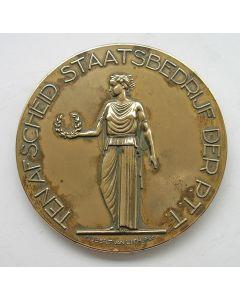 Afscheidspenning na langdurig dienstverband, Staatsbedrijf Der P.T.T. [1949]