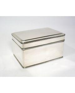 Zilveren koektrommel, 1928