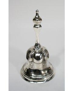 Zilveren tafelbel, 1850