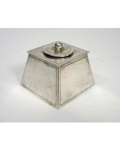 Miniatuur zilveren kakdoos, Arnoldus van Geffen, Amsterdam 1764