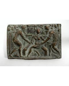 Bronzen plaquette, Susanna en de Ouderlingen