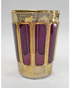 Boheemse kristallen bokaal, ca. 1900