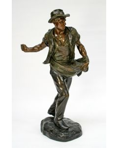 Henri Gauquië, bronzen beeld, De zaaier