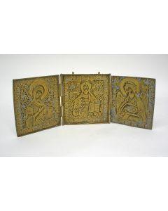 Bronzen icoontriptiek, ca. 1800