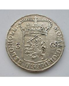 Holland, driegulden, 1774