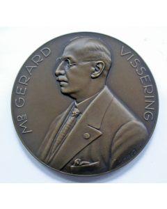 Penning,  'Mr G. Vissering / 75-jarig bestaan Fonds tot Uitkeering bij Overlijden van Beambten van de Ned. Bank', 1938