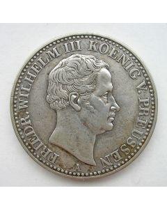Pruissen, zilveren thaler 1838