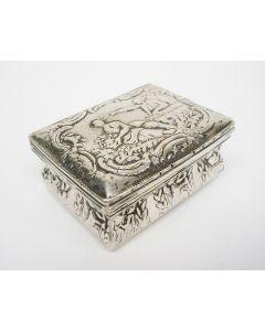 Zilveren snuifdoos, Schoonhoven, 1800
