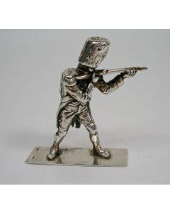 Zilveren miniatuur, Napoleontische soldaat