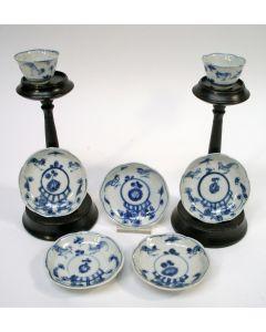 Chinese porseleinen kommetjes en schoteltjes, Kangxi periode