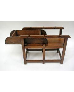 Eikenhouten speelgoed mangel, 19e eeuw