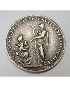 Zilveren penning, Vrede van Rijswijk, 1697