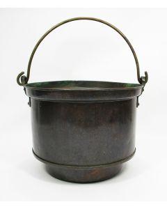 Roodkoperen aker / emmer, 19e eeuw