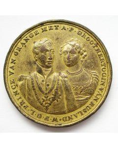Penning, Huwelijk van kroonprins Willem Frederik met groothertogin Anna Paulowna van Rusland, 1816