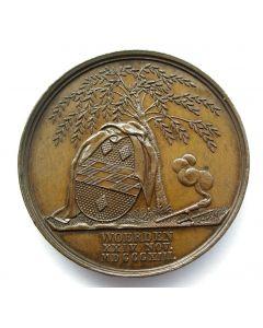 Penning ter gelegenheid van de 25-jarige herdenking van de ramp van Woerden, 1813-1838