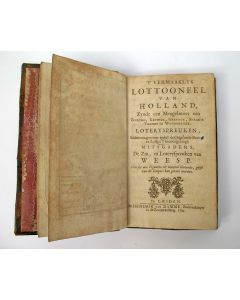 't Vermaaklyk lottooneel van Holland, zynde een mengelmoes van zinryke, keurige, geestige, snaakse vremde en wonderlyke, loteryspreuken, 1705