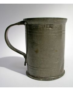 Tinnen maatbeker, 1795