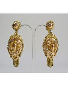 Gouden oorhangers, 19e eeuw