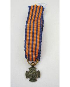 Militaire onderscheiding, Bronzen Leeuw, miniatuur draagmedaille