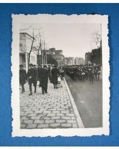Originele foto van een NSB-parade door Utrecht [1941]