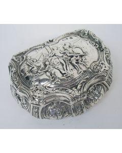 Zilveren snuifdoos, 18e/19e eeuw