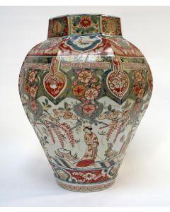 Japanse Imari vaas, eind 17e eeuw