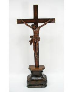 Kruisbeeld met houten corpus, ca. 1800