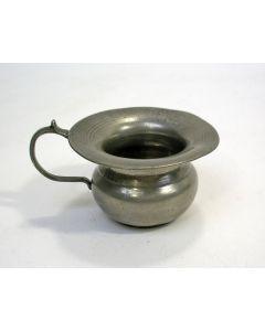 Miniatuur tinnen pispot, Venlo, ca. 1800/20