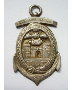 Zilveren draagteken op het derde eeuwfeest van de inname van Den Briel, 1872.