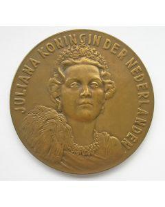 Penning, Inhuldiging Koningin Juliana, 1948 [Pol Dom]
