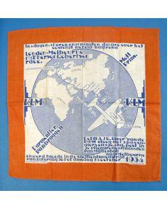 Herdenkingsdoek, vlucht van de 'Uiver', 1934
