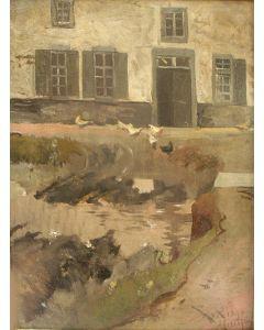 Willem van Konijnenburg, Boerderij, Meerssen 1890