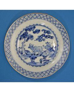 Chinees porseleinen bord, Qianlong periode