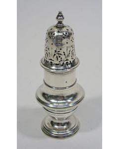 Zilveren strooibus, Balthasar Hampe, Den Haag 1754