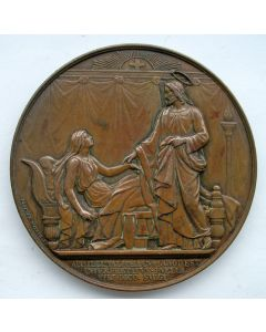 Penning, Invoering van de Bisschoppelijke Hiërarchie in Nederland, 1853 [L.Wiener].