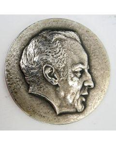 Zilveren penning, Wim Sonneveld, 1974 (Joop Hekman)