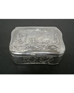 Zilveren snuifdoos, Schoonhoven, 1782