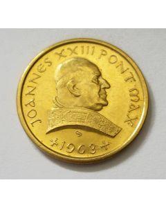 Gouden penning, Paus Johannes XXIII, 1963