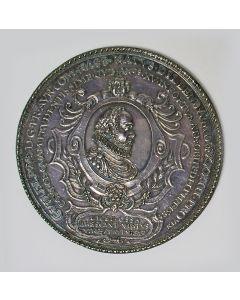 Penning van de Staten van Holland op de dood van Willem van Oranje te Delft, 1584